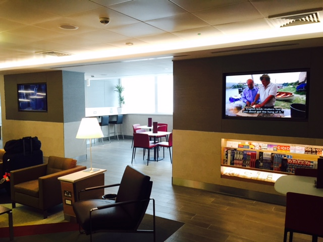 American Airlines Arrival Lounge LHR