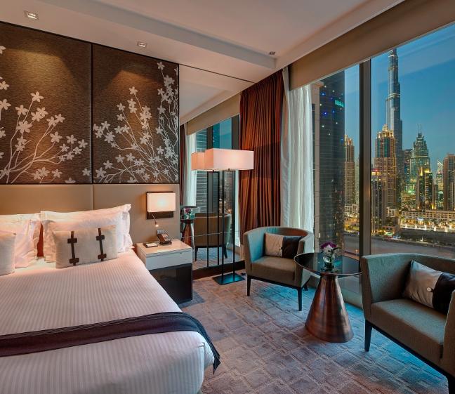 Die Zimmer im Steigenberger Dubai