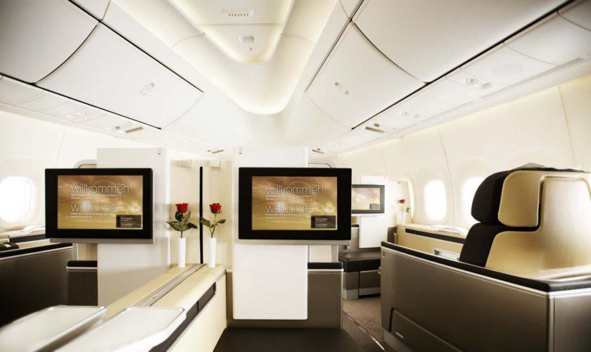 Mit Payback Lufthansa First Class fliegen
