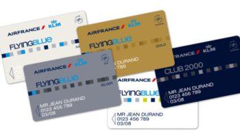 FlyingBlue Mitgliedskarten