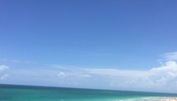 Blick aus dem SOHO BEACH House