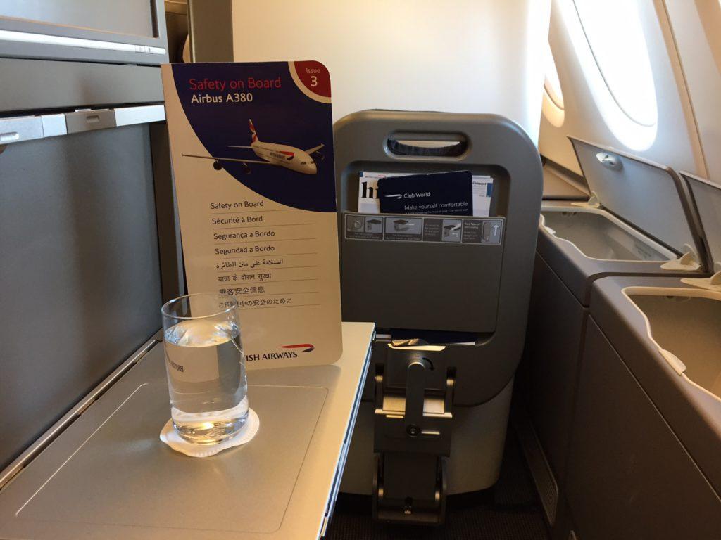 BA A380 Sitz