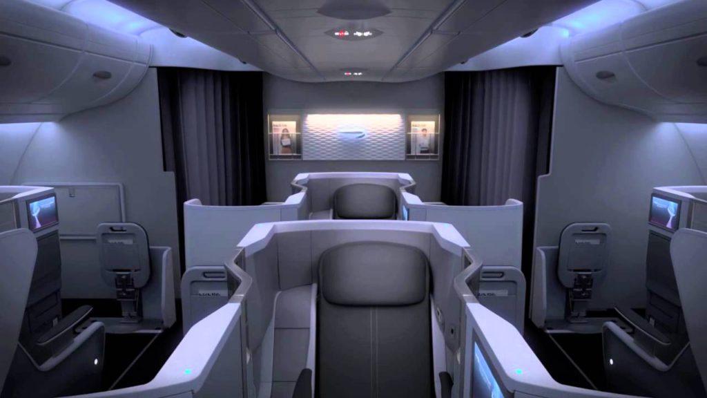 Test British Airways Business Class A380