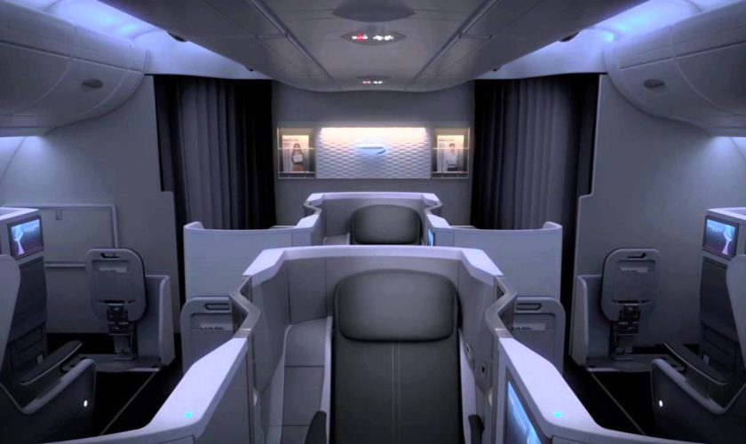 Upper Deck Business Class