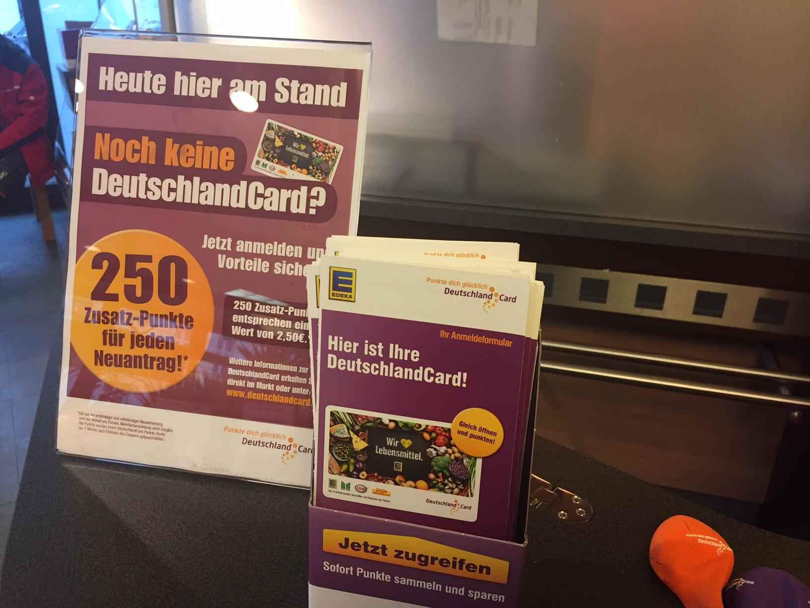 Deutschlandcard 2 Karte Anmelden.Deutschlandcard Und Payback In Berlin Mehr Punkten Upgrade Guru