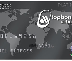 airberlin Platinum Kreditkarte