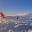 Iberia über den Wolken