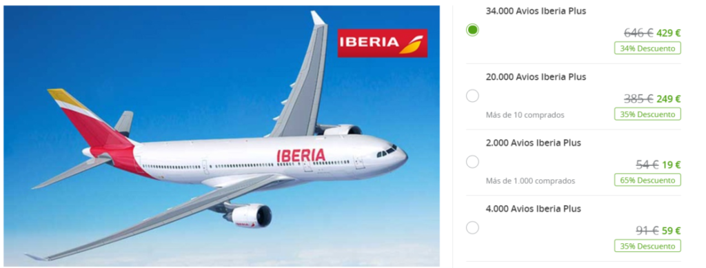 Avios zum günstigen Preis kaufen