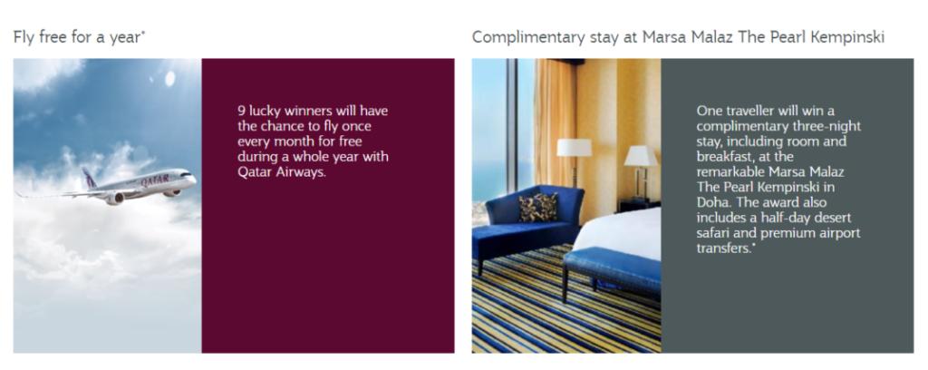 Die Qatar Super Promotion hat es wirklich in sich. Du kannst aus einer großen Auswahl an Rabatten, Promotions und Aktionen teilnehmen. Und dabei sogar 1 Jah
