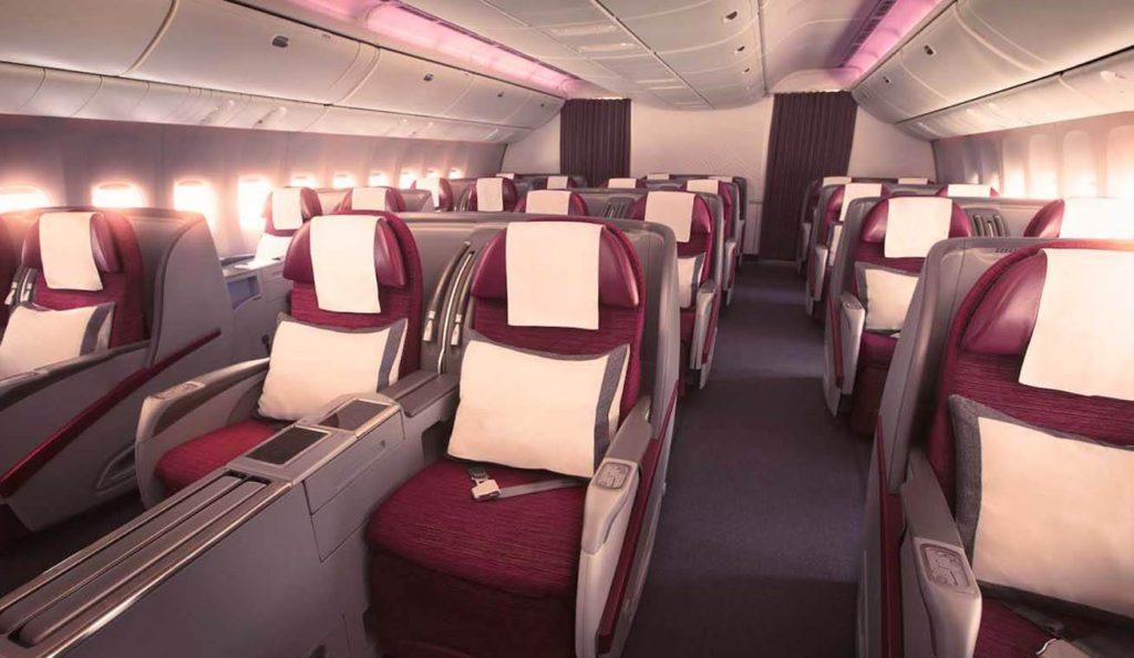 Qatar Sonderangebote in der Business Class ab Europa