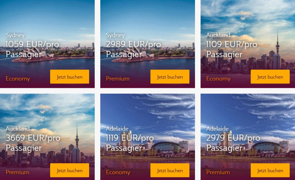 10.000 Extrameilen mit Qatar