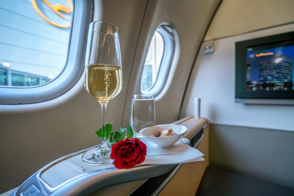günstig Lufthansa First Class