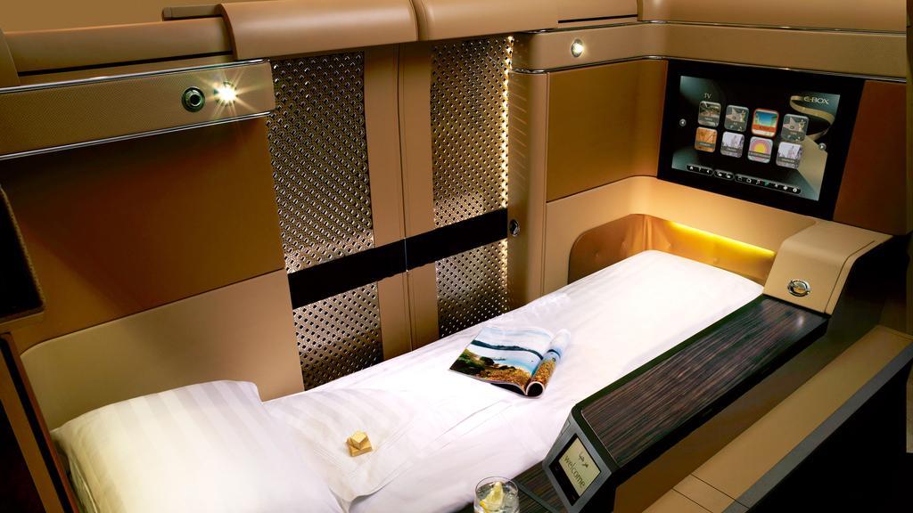 Qatar Qsuite oder Etihad First Suite