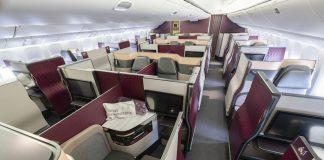 Die Qatar Qsuite fliegt von Berlin, München und Frankfurt