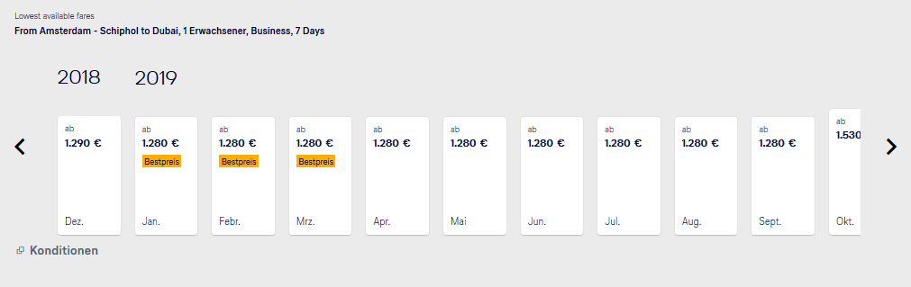 Lufthansa Business Class Deals