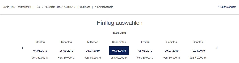 Lufthansa Meilenschnäppchen November