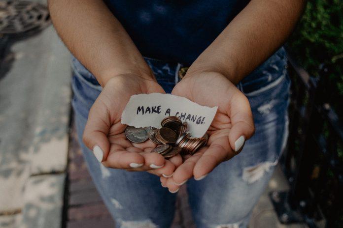 Punkte sammeln für Spenden