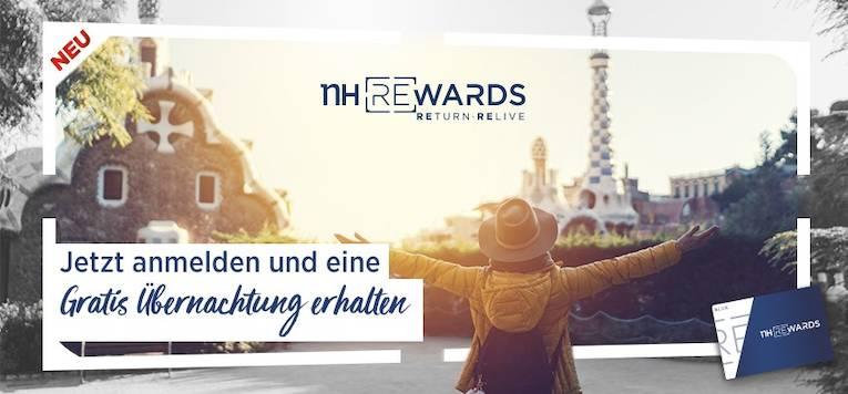 Kostenlose Übernachtung mit NH Rewards