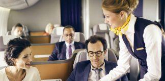 Lufthansa First Class Sale