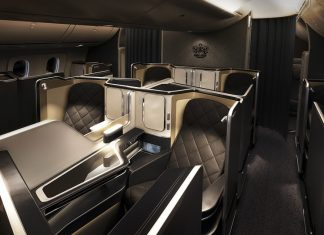 British Airways First Class Suite