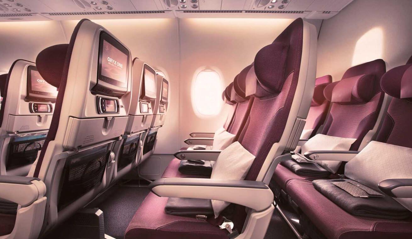 Qatar A380 Economy