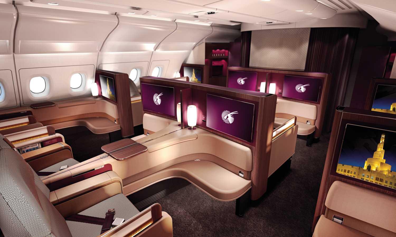 Qatar A380 First Class