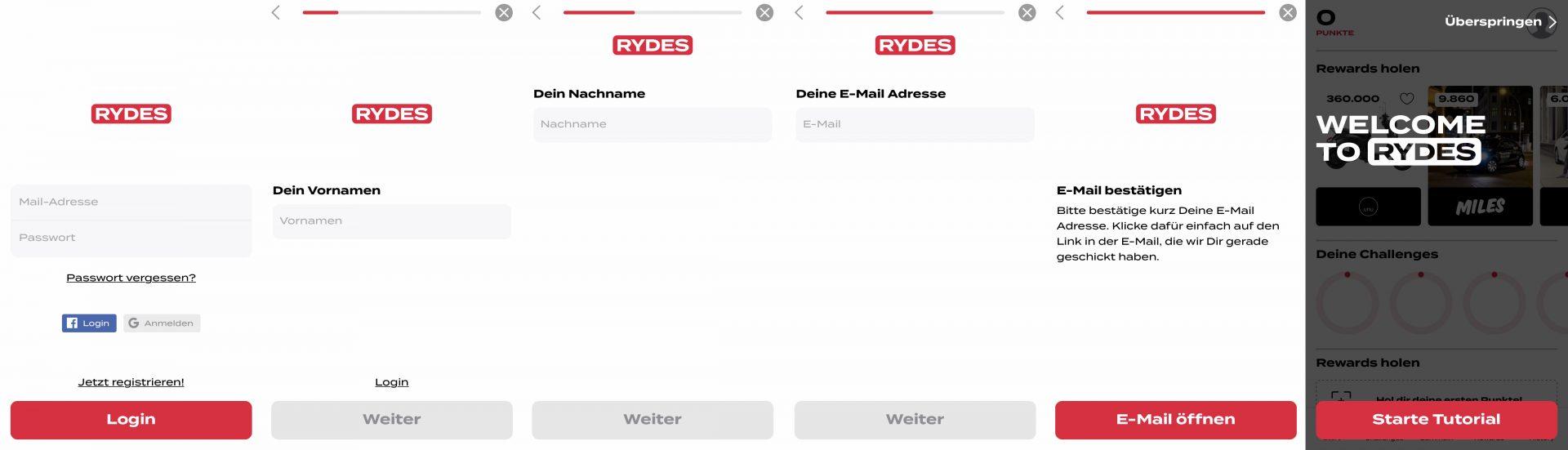 Rydes App Update - was gibt es neues in der Mobilitätsapp?