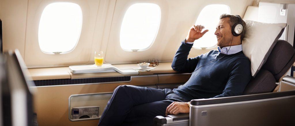 Lufthansa First Class nach Miami
