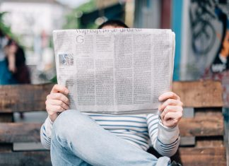 Zeitung weiterempfehlen