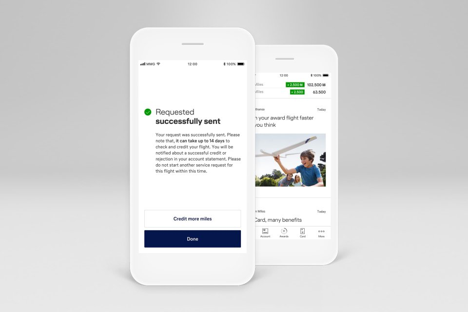 Miles and More App