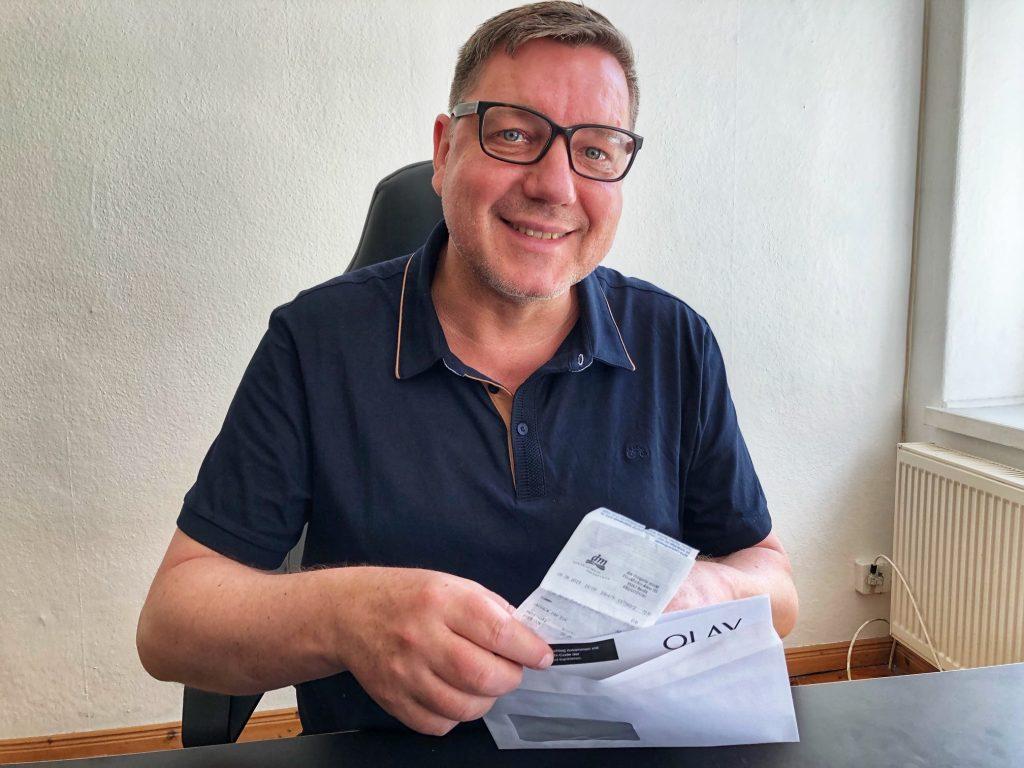 32 Euro Cashback + 840 PAYBACK Punkte - Schritt 3: Formular + Originalbeleg in einen frankierten Umschlag