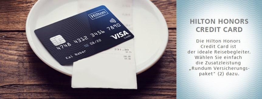 Jetzt die Hilton Honors Kreditkarte beantragen + 5.000 Honors Punkte Willkommensbonus sichern