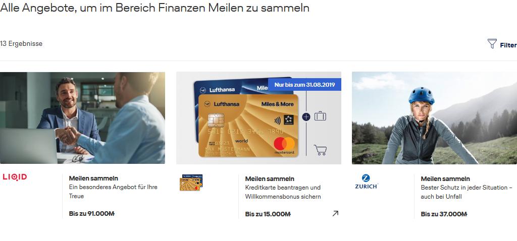Lufthansa Meilen sammeln online