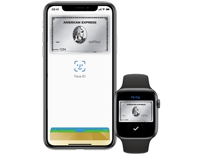 Apple Pay Face ID American Express