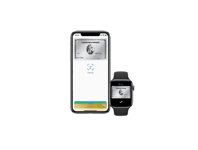 American Express mit Apple Pay